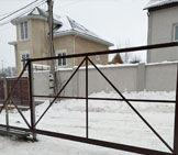 каркасы откатных ворот